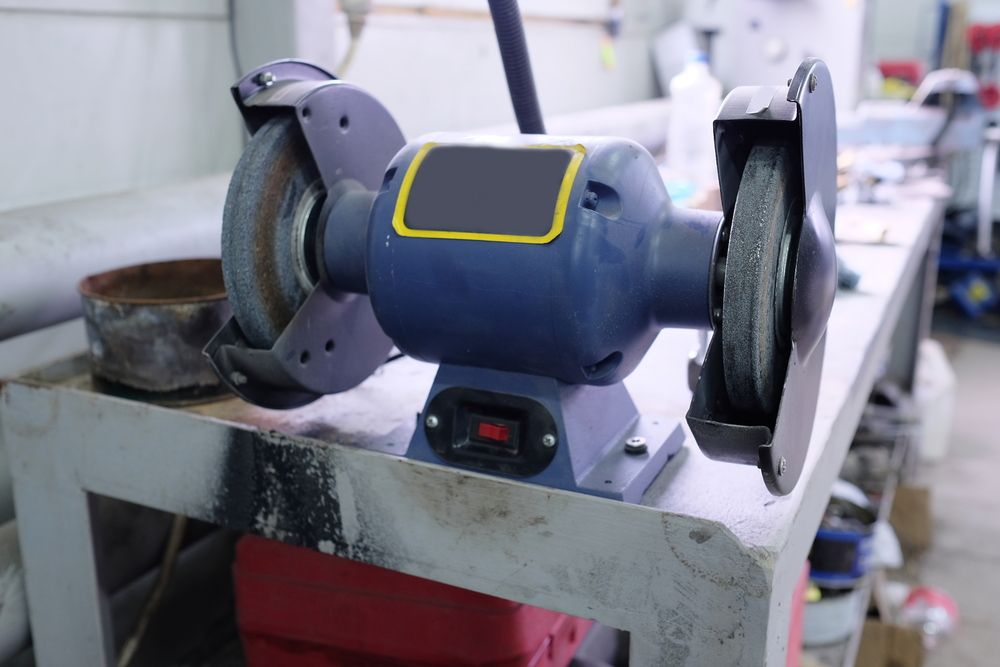 How to Turn a Bench Grinder into a Belt Sander