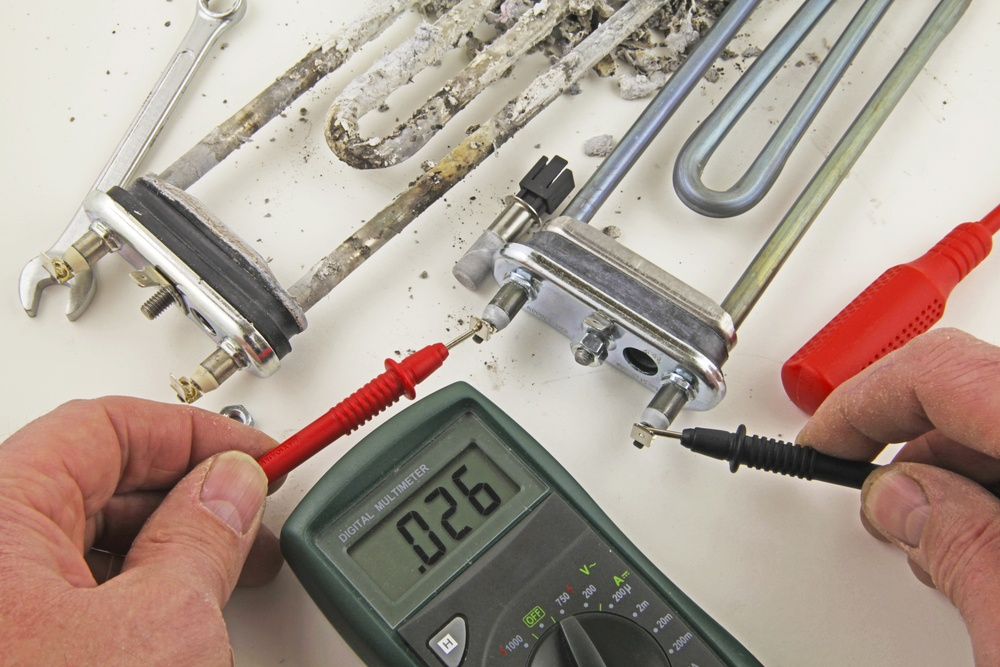 How to Check a Water Heater Element with a Multimeter