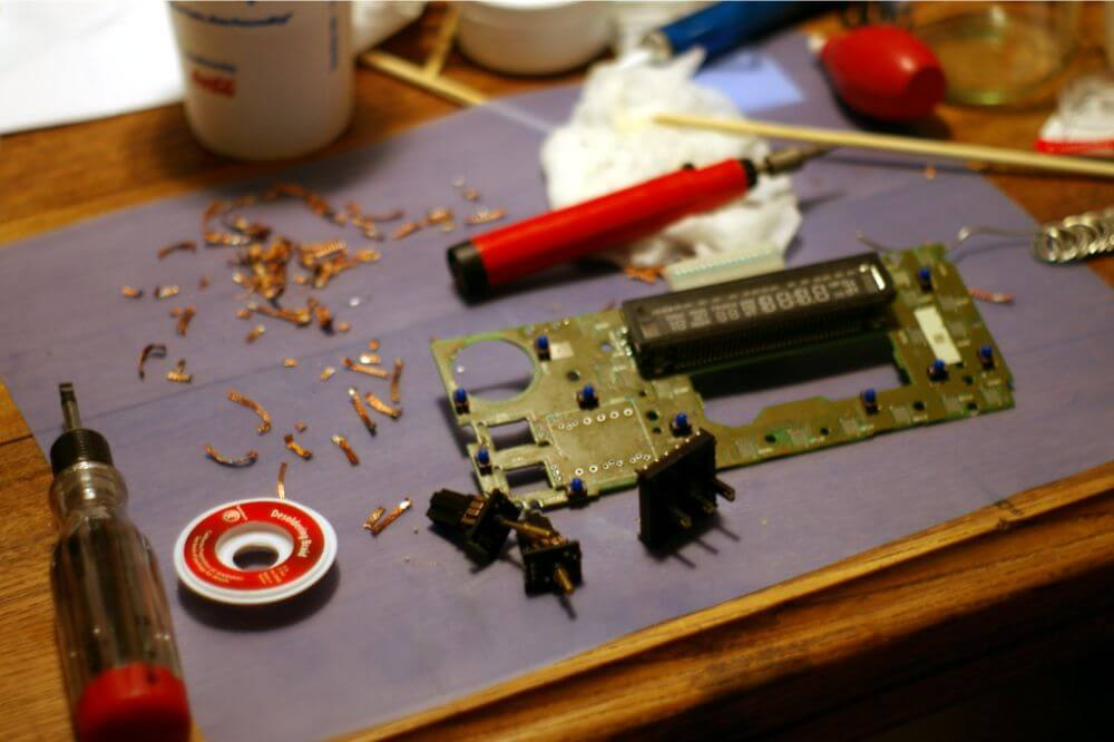 How to Remove Solder without a Soldering Iron
