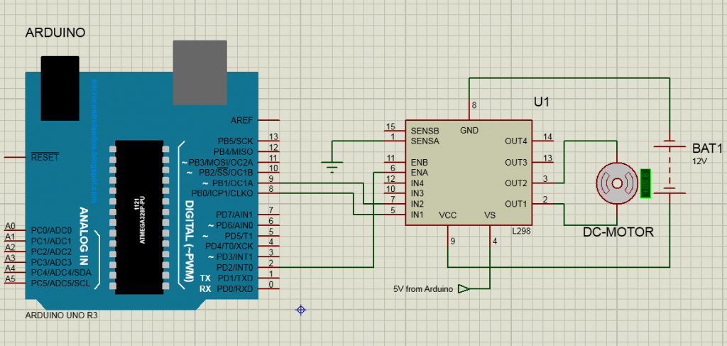 How to Connect a Motor Driver To an Arduino Uno