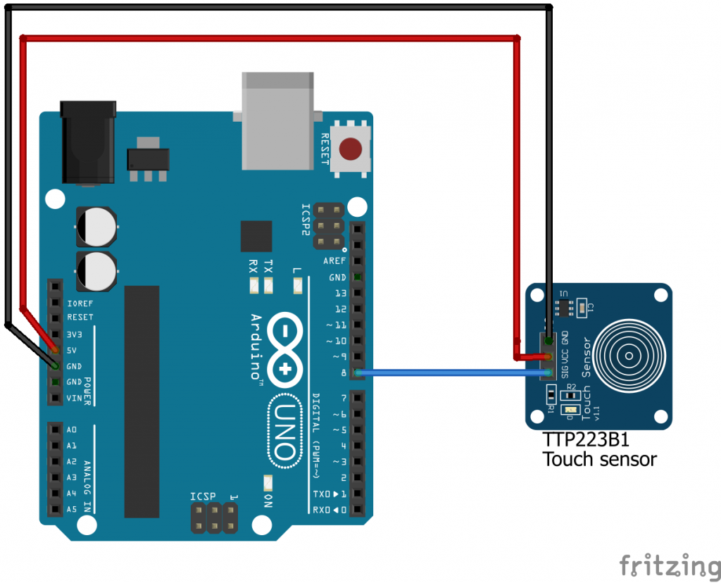 How to Connect a Touch Sensor to Arduino 5