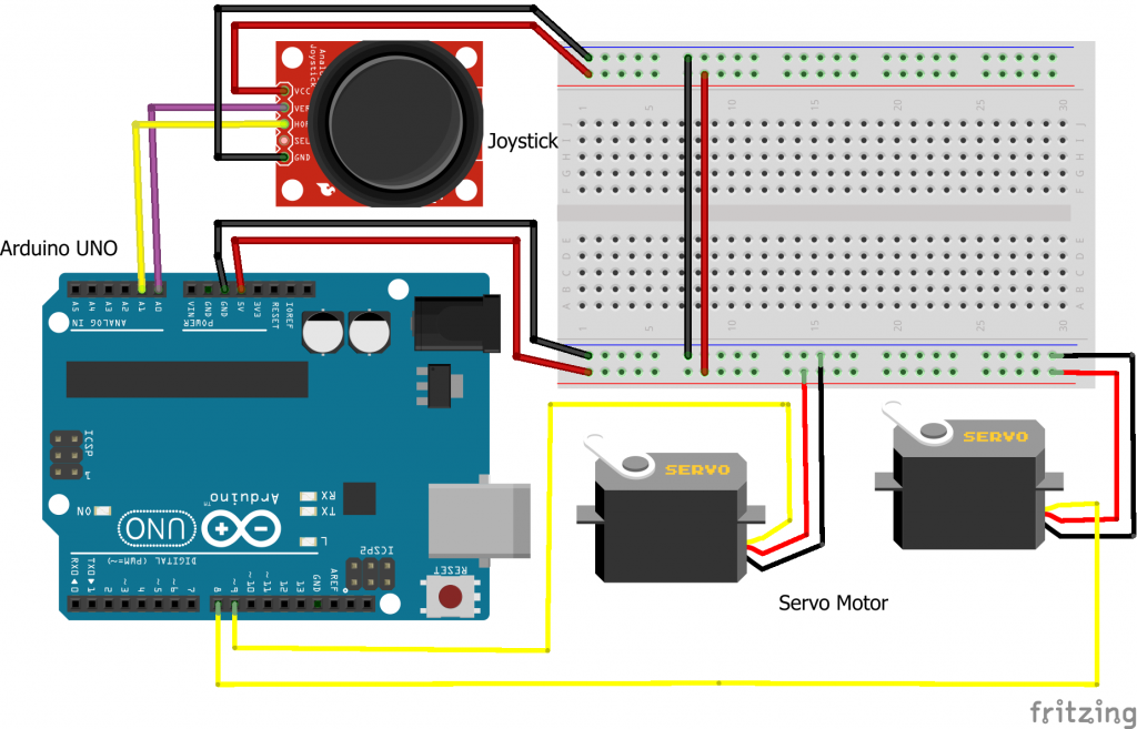 How to Connect Set Up Control a Joystick with Arduino