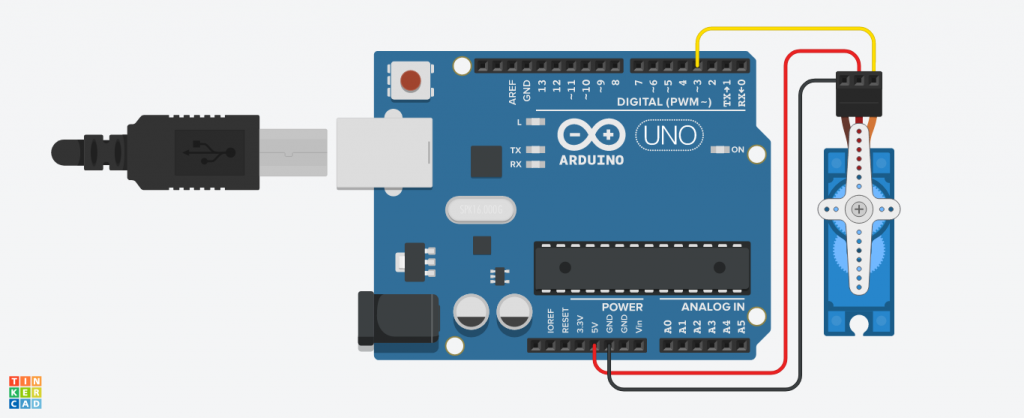 How to Interface a Servo Motor with Arduino