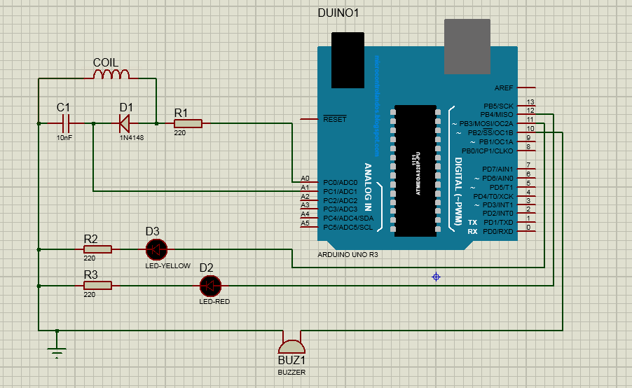 How to Make a Metal Detector Using Arduino Search Current