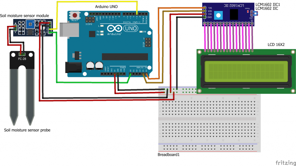 How to Use Arduino to Display Sensor Values on an LCD